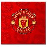 Man Utd Face Towel