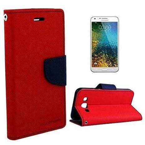best authentic c0c26 04d89 Samsung J2 /J2-6 /J2 Pro J210 RED Flip Cover: Amazon.in: Electronics
