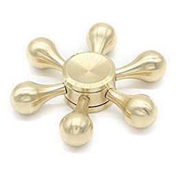 Fidget Spinner Helmsman Swincho Brass Nautilus Spins Spinner Stress Reducer EDC Focus Toy for ADHD 2017 New