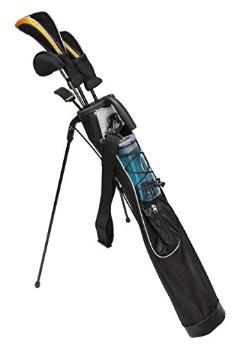 Bag Golf Compact - JEF WORLD OF GOLF JR1256 Pitch & Putt Sunday Bag with Stand & Handle