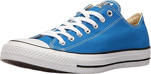 Converse Chuck Taylor All Star Seasonal Colors Ox, Solar Blue, Men's 4.5, Women's 6.5 Medium -