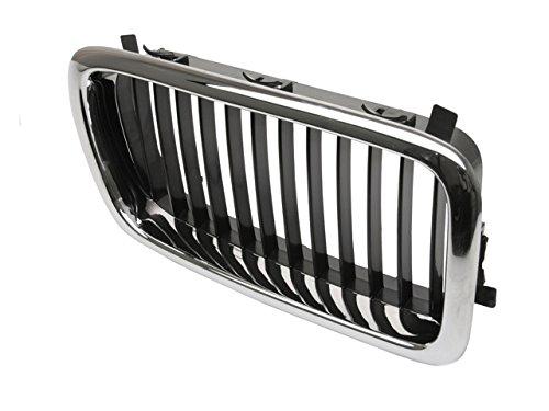 Price comparison product image BMW E-38 (-08 / 98) Grille RIGHT Chrome+Black ZIEGLER