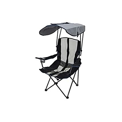 Superieur Kelsyus Premium Portable Camping Folding Lawn Chair W/ Canopy, Navy |  80188, With