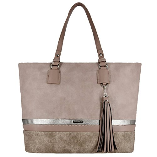 Women Handbag Pink Tote For Jones David Rose PwqAOTxUBW