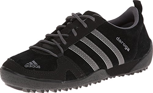 adidas Outdoor Kids Unisex Daroga Leather  Black/Granite/Bla