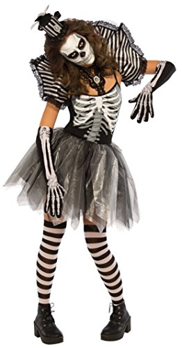 Rubie's Women's Dancing Skeleton Costume, Multi, Medium]()