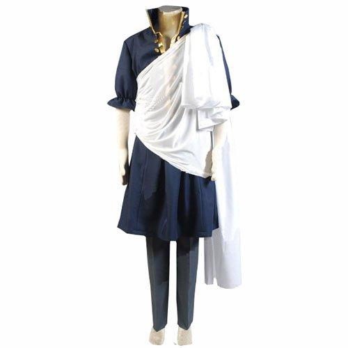 [Cuterole Anime Fairy Tail Zeref Cosplay Costume Halloween Uniform Custom] (Zeref Cosplay Costume)
