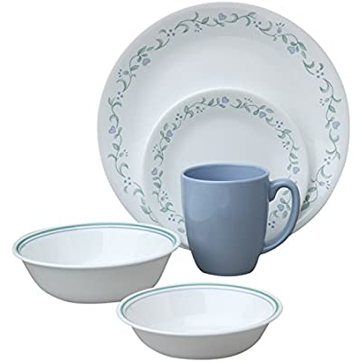 Click for Corelle Livingware Country Cottage 30-Piece Dinnerware Set, Service for 6