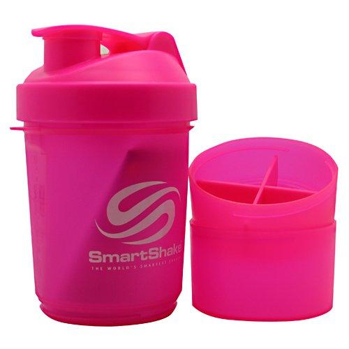 Smart Shaker Bottle Smart Shake Bottle 20oz Pink