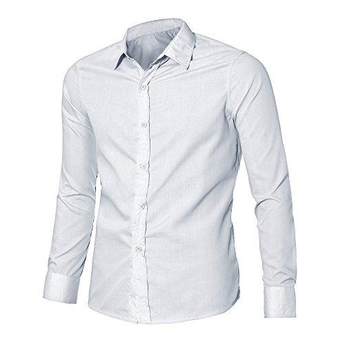 Tee shirt Élégant Banc Coupe Polo 2019 nbsp; Hauts Cebbay Tops Manche Homme Slim Luxe T Chemise Longue wAqx5R5Fv