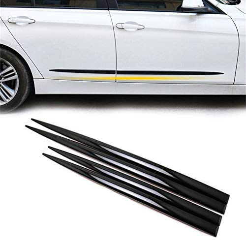 COSMOSS Car Body Side Molding ABS Strips Front Rear Lower Door for SUV
