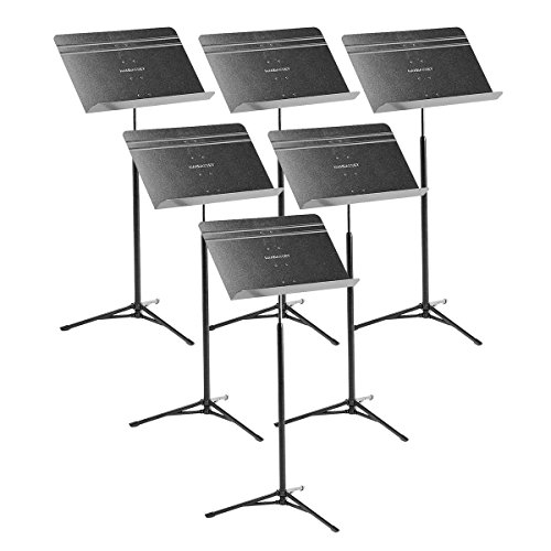 Manhasset 5201 Voyager Music Stand - 6 pack by Manhasset