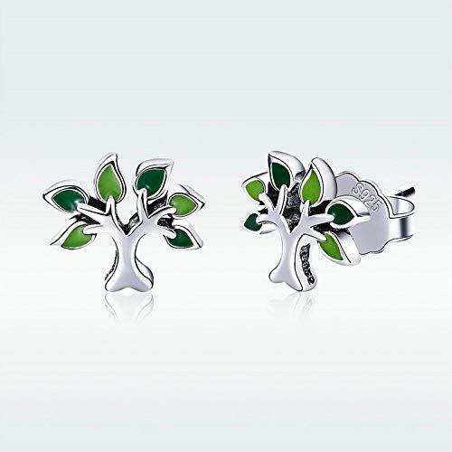 FidgetKute Celtic Tree of Life Earrings Real 925 Sterling Silver Fashion Jewellery Ear Stud
