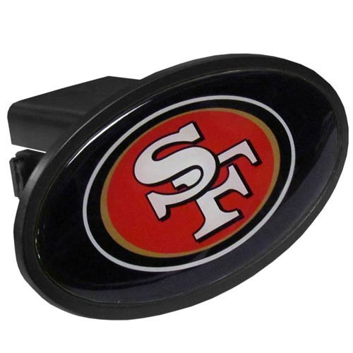 Siskiyou NFL San Francisco 49ers Plastic Logo Hitch Cover, Class III