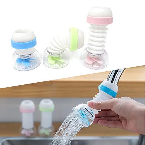 Splash Proof Jacket - Honbay 3PCS Splash-Proof Faucet Sprayer Tap Nozzle Filter Aerator Diffuser Water Saver for Standard Faucets