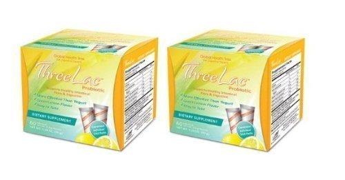Threelac Probiotic Bonus Pack 120 Packets Review