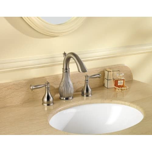"Pfister Virtue 2-Handle 8"" Widespread Bathroom Faucet, Brushed Nickel outlet"