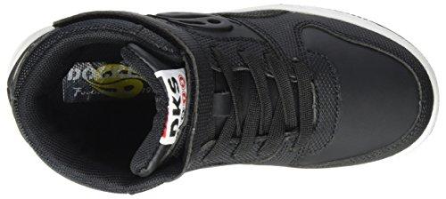 Dockers schwarz Zapatillas By 41el602 Altas Negro 617 Gerli Unisex Niños rwTHrqC