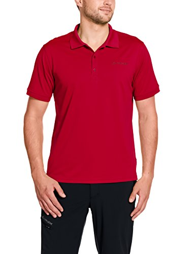 VAUDE Herren T-Shirt Marwick Polo II, Indian Red, XL, 40034