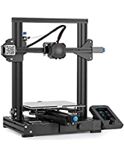 Official Creality Ender-3 V2 3D Printer with Silent Motherboard MeanWell Power Supply Carborundum Glass Platform and Resume Printing Function 220x220x250mm
