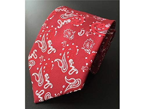 Red XDXDWEWERT Party Occasion and Men's Casual for Wedding Printed Formal Comfortable Style Necktie 7Bw7a1q