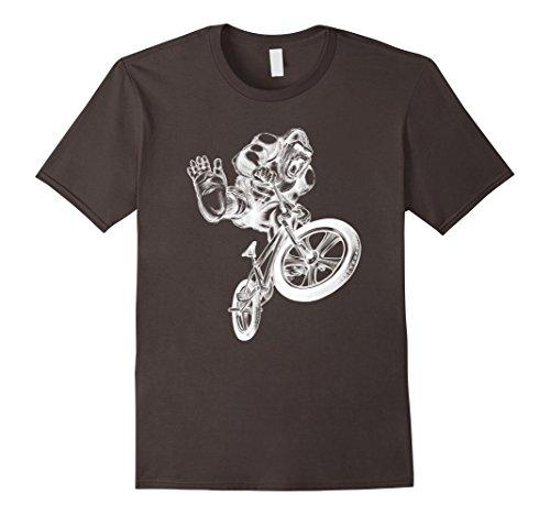 Mens Cool Hand Drawing Design Cycling Gorilla T-shirt XL (Drawing Hands T-shirt)