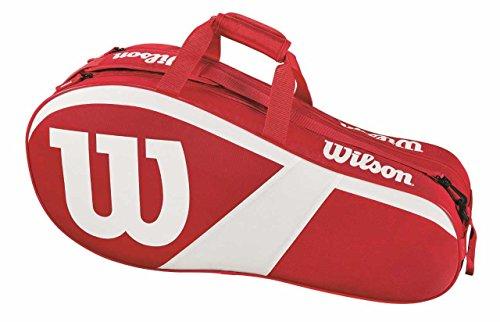Wilson Match III 6 Racquet Bag Red/White