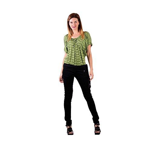 Zergatik Camiseta Mujer MARGO Guess green