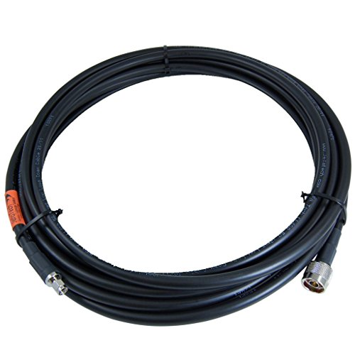 JEFA Tech 50 Feet CradlePoint to External Antenna Cable Assembly - SMA Male to N Male by JEFA Tech