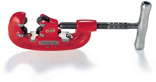 RIDGID 32870 Model 42-A Heavy-Duty 4-Wheel Pipe Cutter, 3/4-inch to 2-inch Steel Pipe Cutter