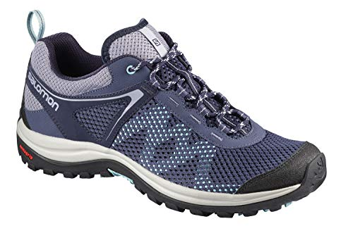 Image of Salomon Women's Ellipse Mehari Trail Running Shoe, Crown Blue, 8.5 M US