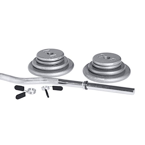 CAP Barbell RSG 050 Curl bar Set, 50 lbs
