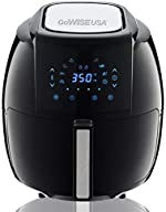 GoWISE USA 1700-Watt 5.8-QT 8-in-1 Digital Air Fryer with Recipe Book,