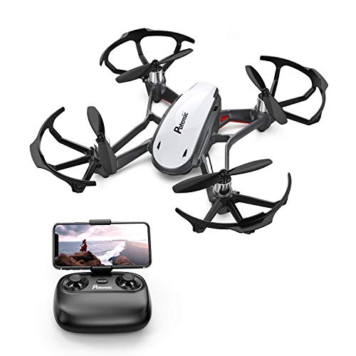 Mini Drone, Potensic D20 Nano Quadcopters with Camera, Altitude Hold, Remote Control, Headless Model, Small Drones for Kids/Beginners