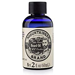 Mountaineer Brand Beard Oils are handmade with 100% natural oils. The combination of ingredients absorbs quickly to give your beard a smooth, soft, subtle shine. Mountaineer's beard conditioning oil helps condition and repair damaged hairs. T...
