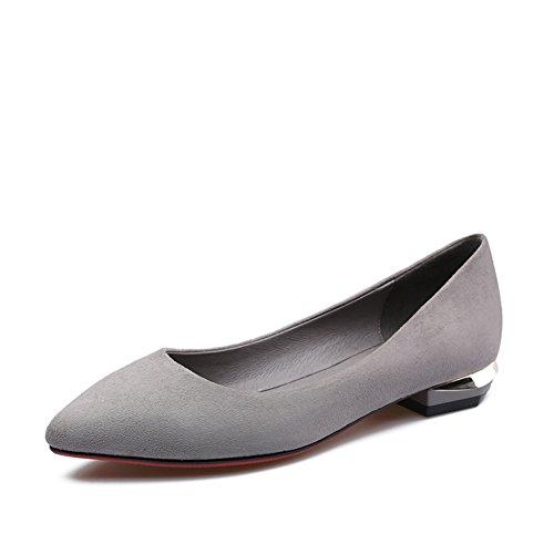 Colores sólidos Ms fuerte con zapatos bajos en la primavera/ligeros zapatos de viajero y de ocio A