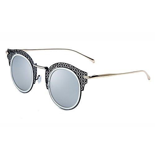 Joopin Women Polarized Hollow Cateye Sunglasses Coating Brand Designer Sun - Brands Glasses Korean