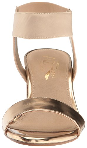 recommend for sale Aerosoles A2 Women's High Hat Dress Sandal Gold Combo cheap outlet store outlet footaction DwS863uSt