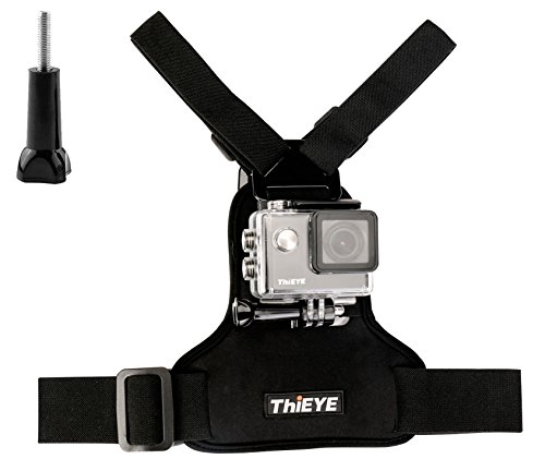 ThiEYE Universal Adjustable Chest Mount Harness With Thumb Screw for Spors Action Cameras by ThiEYE
