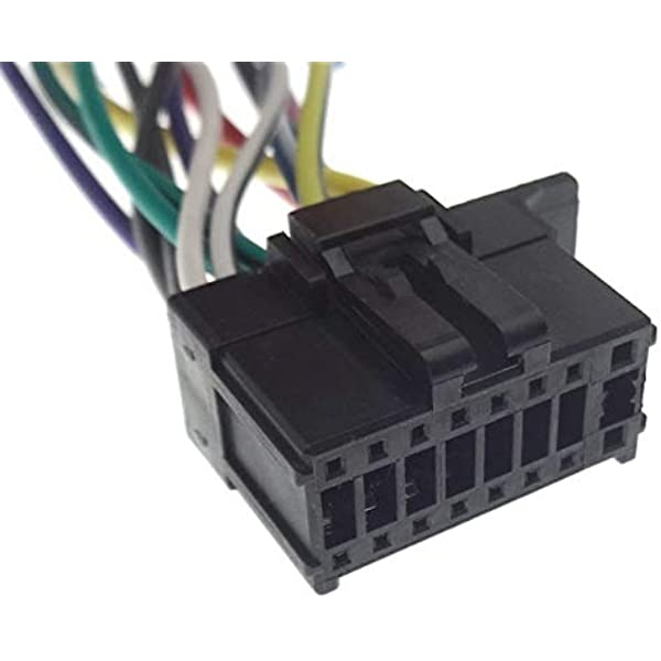 Pioneer (21) Cable conector de radio AVH MVH adaptador ISO ...