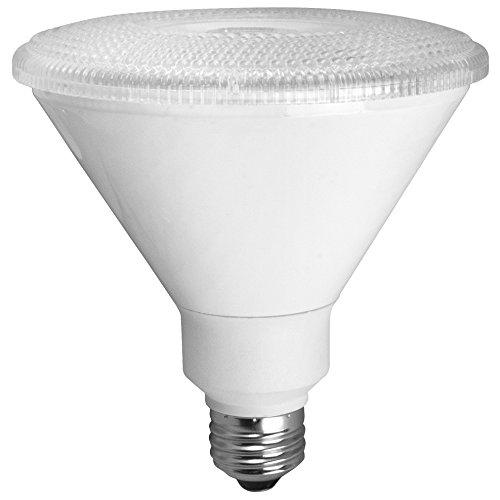 TCP RLP3817W30KD LED PAR38 – 90 Watt Equivalent (17w) Bright White (3000K)  Dimmable 40 Degree PAR Flood Light Bulb Review