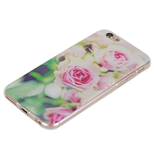 Per Apple iPhone 6 (4.7 Pollici) Custodia ZeWoo® Custodie in TPU silicone Case Cover - HX018/Rose