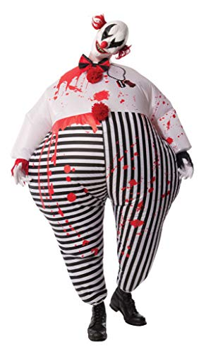 Rubie's Men's Inflatable Evil Clown Costume, Multi, Standard (Inflatable Clown)