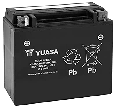 New Yuasa High-Performance Maintenance Free Motorcycle Battery - 2003-2012 Honda ST1300
