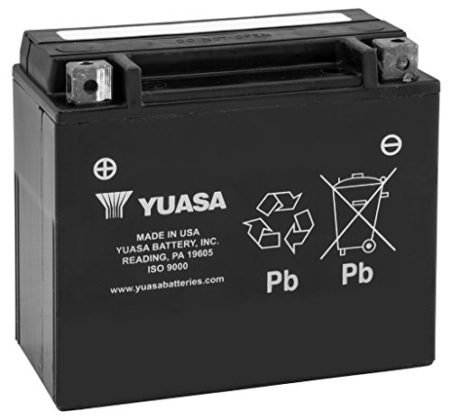 New Yuasa Maintenance Free Motorcycle Battery - 2008 Ducati Monster 695