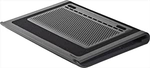 Targus Space Saving Lap Chill Mat for Laptop up to 17-Inch, Gray/Black (AWE80US)
