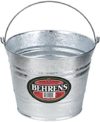 Amazon.com: Behrens 1205 Utility cubeta, Acero galvanizado ...