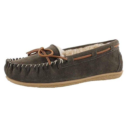 SoftMoc Women's Bali Supreme Lined Ballerina Moccasin Birch 9 M US