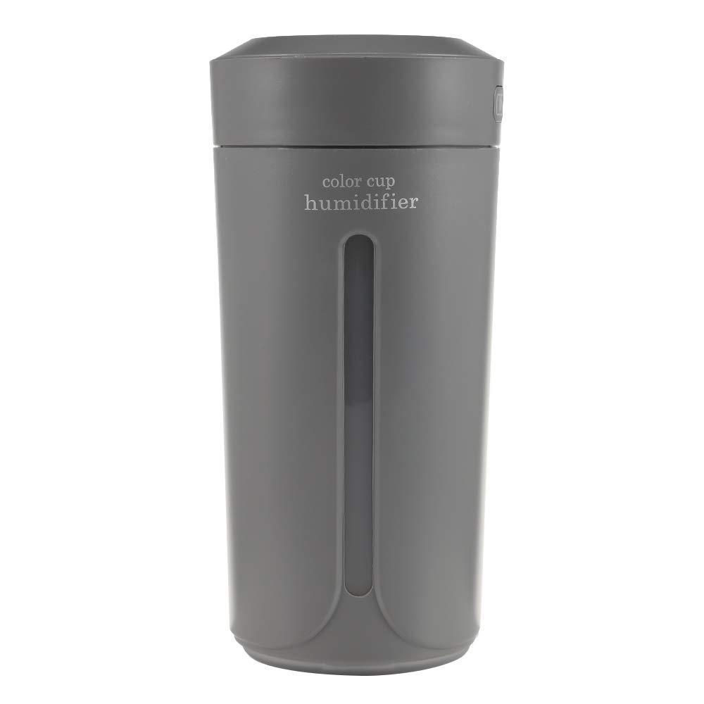 Wenquan,Purificatore d'aria portatile elettrico dell'umidificatore della tazza (color:BIANCA) Purificatore d'aria portatile elettrico dell'umidificatore della tazza (color:BIANCA)