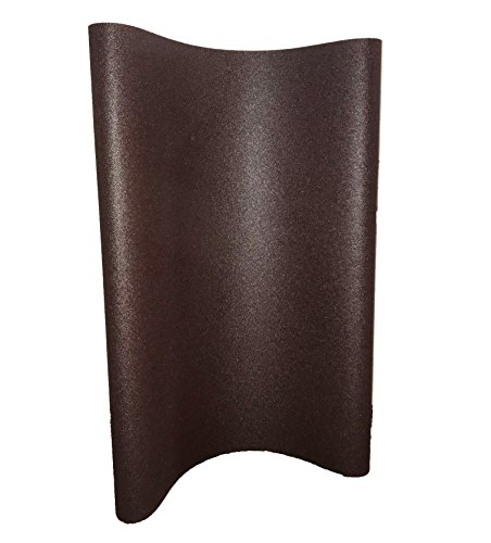 "Sungold Abrasives 67766 Aluminum Oxide 80 Grit X-Weight Cloth Wide Sanding Belt (Box of 2), 37""X60"","